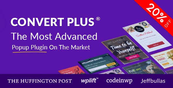 ConvertPlus-Popup Plugin for WordPress