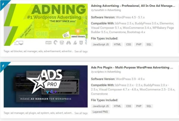 """Top Advertising Plugins for WordPress"""