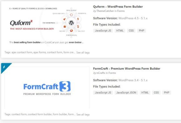 """Top WordPress Form Plugins"""