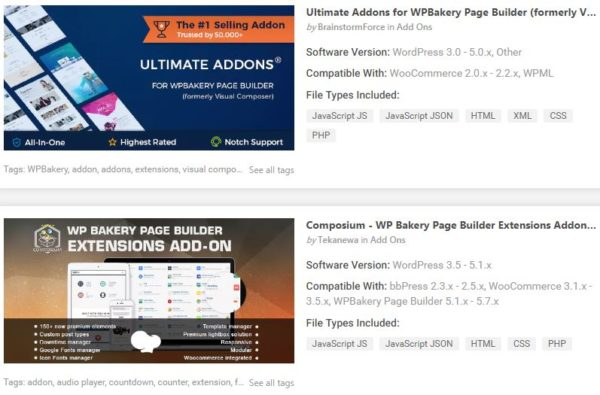 """Top Add-ons Plugins for WordPress"""